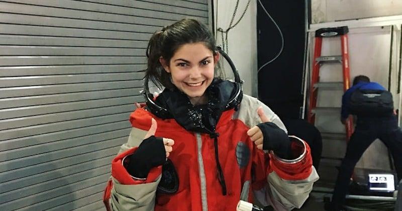 À 17 ans, elle a été choisie par la NASA pour être la première humaine à fouler le sol sur Mars