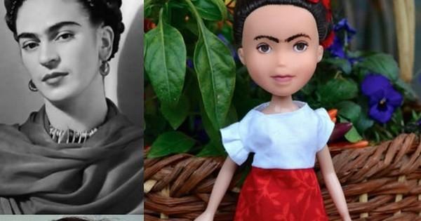 Elle réinvente les poupées des petites filles pour les faire à l'image des femmes célèbres qui ont changé le monde !