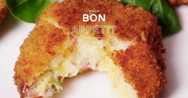 Les croquettes au fromage et au jambon, la petite gourmandise que vous allez adorer !