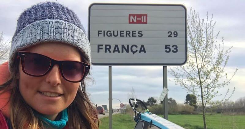 Atteinte de fibromyalgie, elle parcourt 6000 km à pieds à travers trois pays pour sensibiliser à sa maladie
