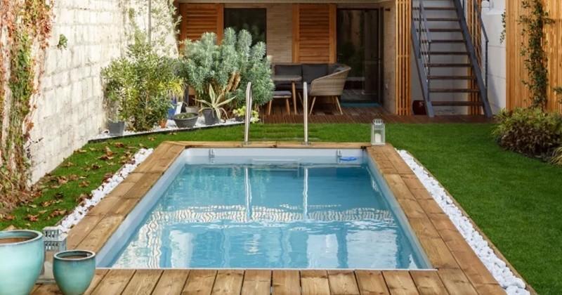 Ils font construire une piscine pour sublimer l'espace extérieur