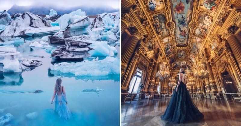 Kristina Makeeva, la blogueuse qui vous fait découvrir le monde grâce à ses robes extraordinaires