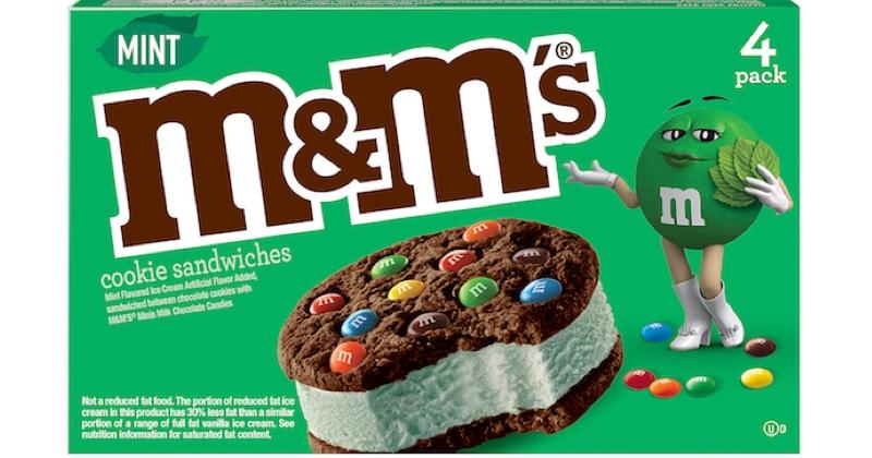 Saint-Patrick : M&M'S présente son cookie sandwich à la menthe !