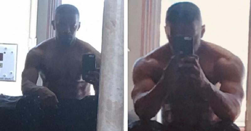 Jamie Foxx dévoile sa transformation physique pour son rôle dans le biopic sur Mike Tyson