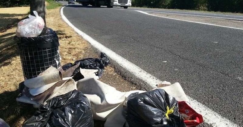 Un automobiliste français sur trois jette ses déchets par la fenêtre de sa voiture