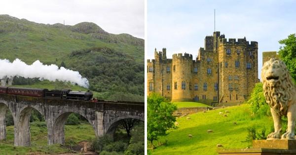 11 lieux magnifiques qui retracent la saga Harry Potter, le 6eme donne vraiment envie d'y aller...