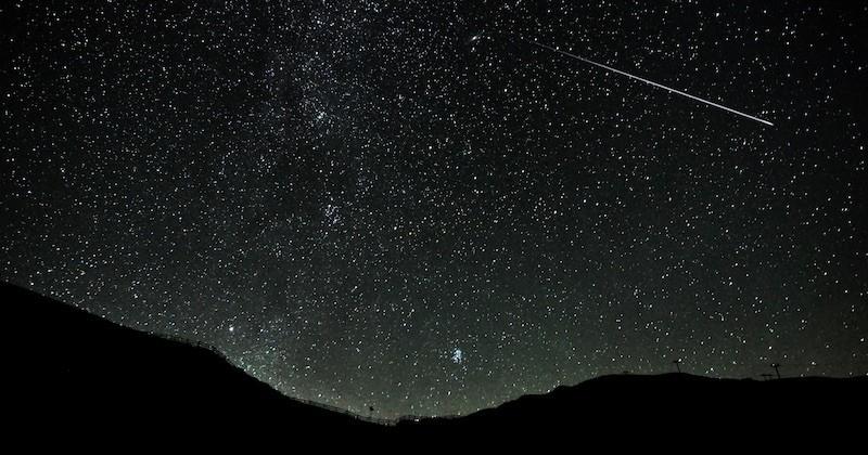 Dans la nuit du 13 au 14 décembre, la pluie d'étoiles filantes des Géminides va illuminer le ciel