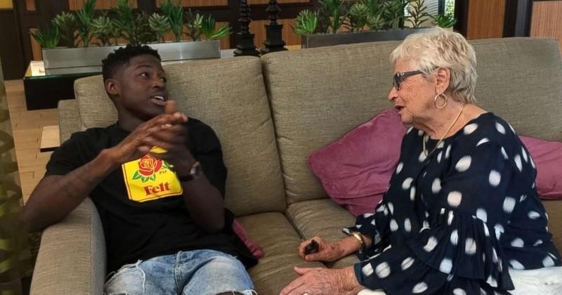 Un jeune rappeur de 21 ans et une retraitée de 81 ans deviennent amis grâce à un jeu de Scrabble en ligne