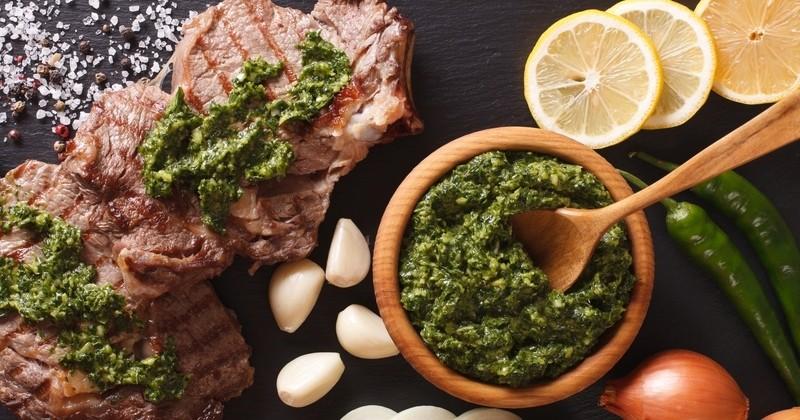 sauce Chimichurri argentine