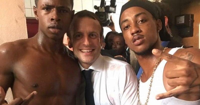 Le cliché d'Emmanuel Macron à Saint-Martin: La compilation des tweets les plus drôles