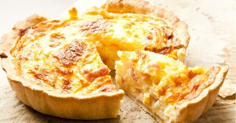 Préparez une quiche 4 fromages et pommes de terre !