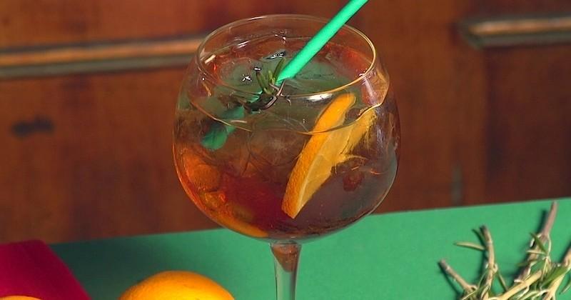 Garanti sans alcool, découvrez le mocktail Palermo Tonic!