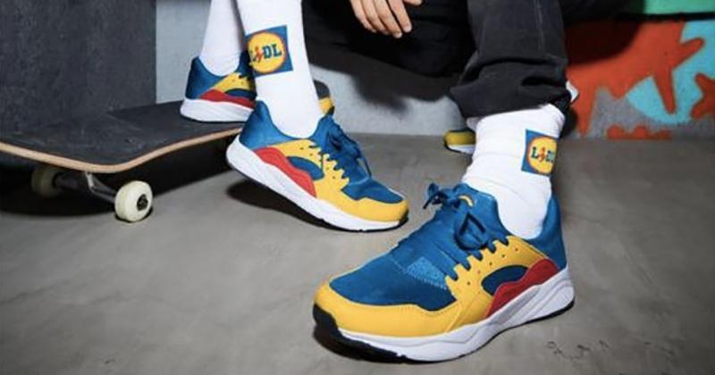 Les baskets de Lidl, disponibles depuis aujourd'hui, sont déjà en vente 10 fois leur prix sur Internet