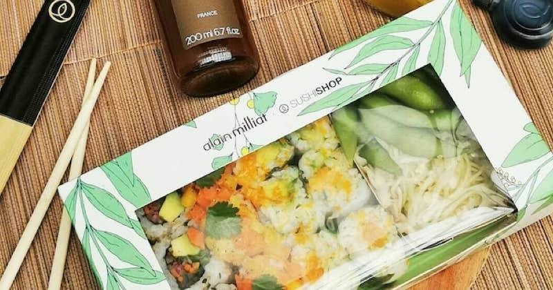 Sushi Shop et Alain Millat présentent une box qui ramène les beaux jours