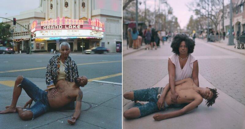 Un photographe met en scène des mères afro-américaines avec leur fils « décédé » dans leurs bras pour dénoncer les violences policières