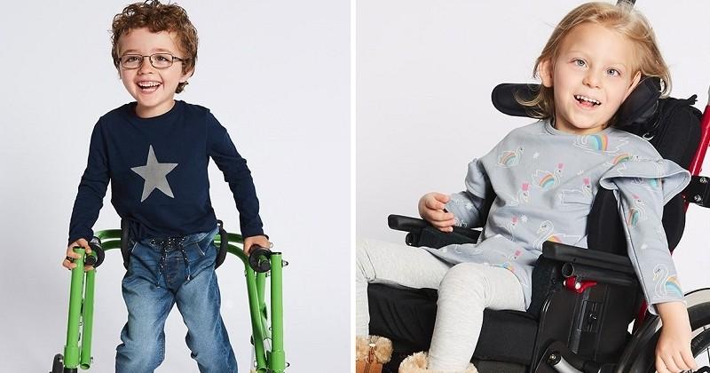 Marks & Spencer dévoile sa première ligne de vêtements exclusivement pensée pour les enfants handicapés