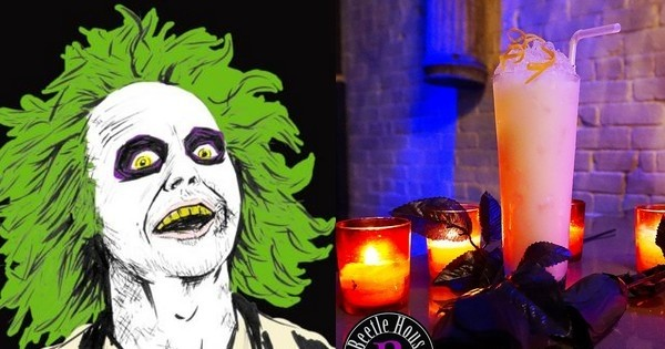 Avis aux fans de Tim Burton : un bar à thème sur ses films a ouvert à New York