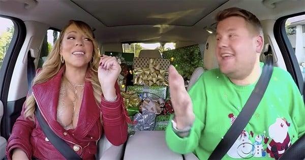Les plus grandes stars de la chanson reprennent le cultissime « All I Want For Christmas Is You » de Mariah Carey, pour le « Carpool Karaoke » spécial Noël de James Corden