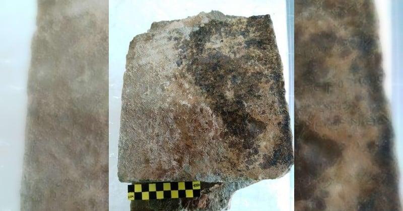 En Grèce, découverte de la plus vieille trace manuscrite de L'Odyssée d'Homère sur une tablette antique