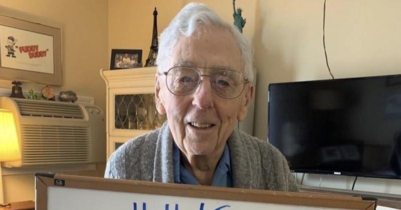 Sa fête pour ses 101 ans annulée, il espère récolter 101 000 likes comme cadeau d'anniversaire