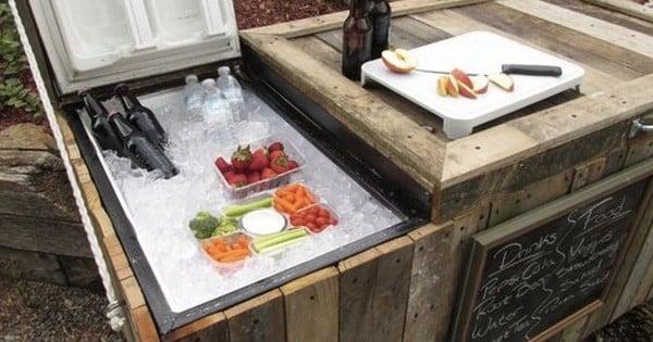 Découvrez comment transformer votre vieux frigo en glacière : génial !