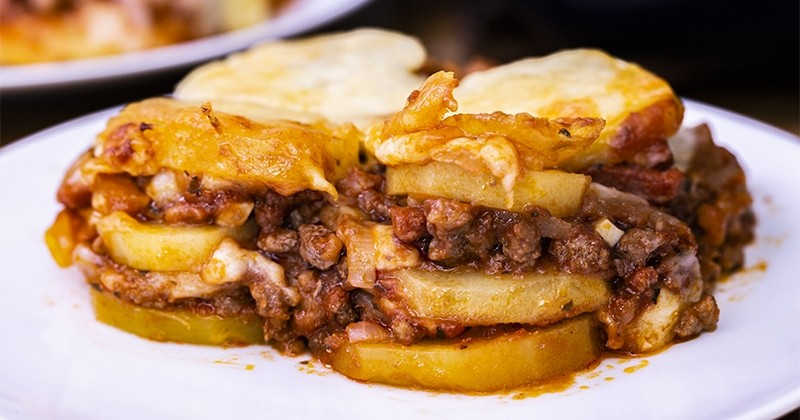lasagnes aux pommes de terre