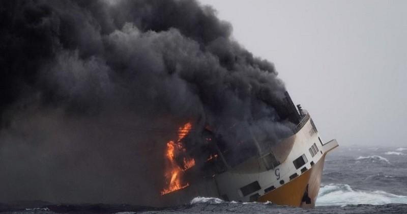 Grande America : une nappe d'hydrocarbures localisée dans la zone du naufrage menace le littoral français dans les jours à venir