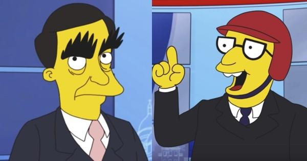 Quand les Simpson parodient l'élection présidentielle française pour parler d'écologie, c'est à mourir de rire !