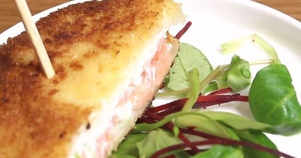 Le croque-saumon, un vrai plaisir pour les papilles !