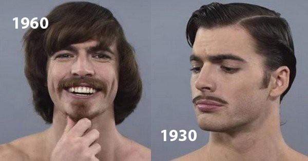 Voici 100 Ans D Histoire Des Tendances De Coupes De Cheveux Des Hommes En Video