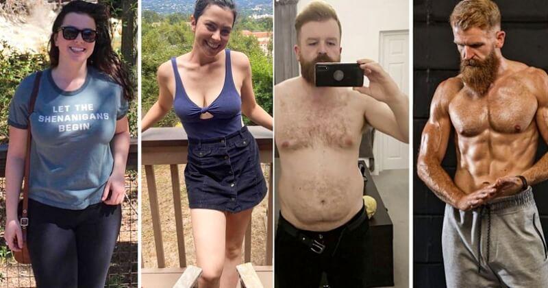 15 personnes dont la perte de poids est incroyable, la preuve qu'avec beaucoup de volonté tout est possible