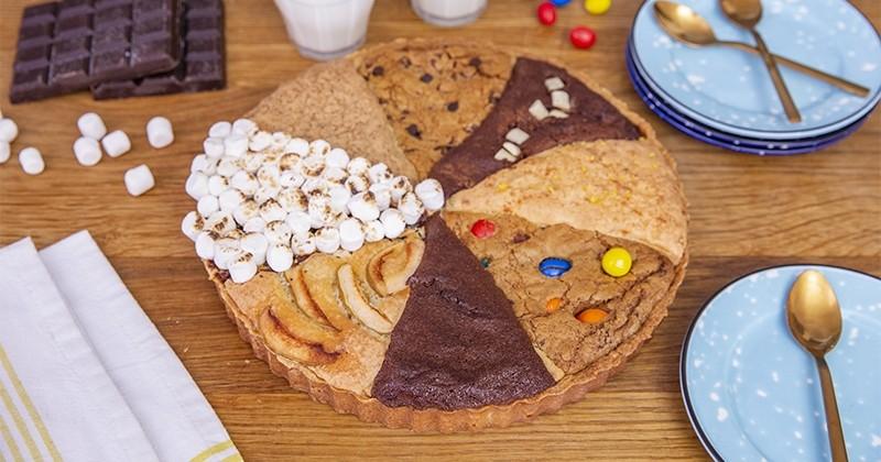 Jouez avec la pâtisserie en mixant 8 gâteaux en une seule tarte!