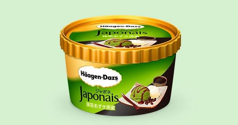 Häagen Dazs lance une nouvelle glace au thé matcha et aux haricots rouges !