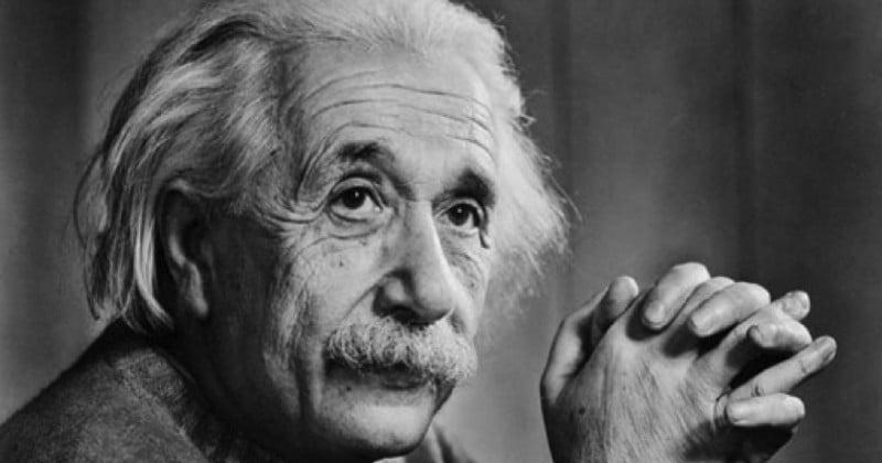 Une lettre, dans laquelle Einstein remet en cause l'existence de Dieu, vendue 2,9 millions $ aux enchères