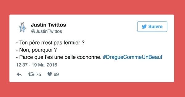 Les 14 pires phrases de drague recens es sur twitter avec - Les phrases de drague qui marchent a tout les coups ...