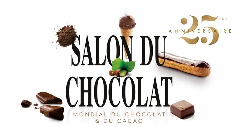 Le salon du chocolat revient du 30 octobre au 3 novembre 2019 !