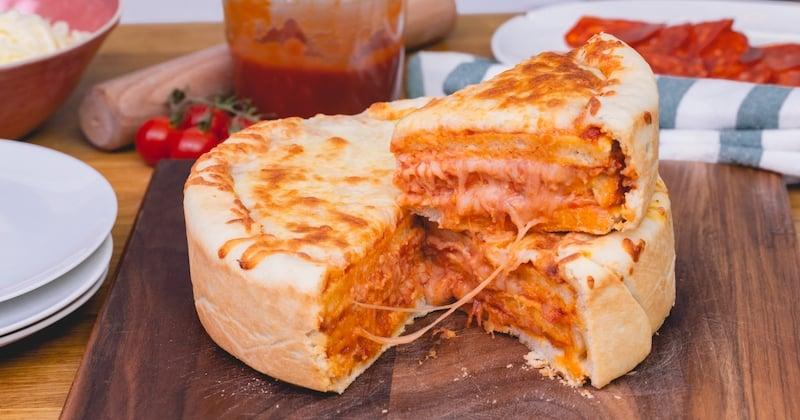 Si vous êtes fan de pizza, vous allez adorer notre Pizza Cake!