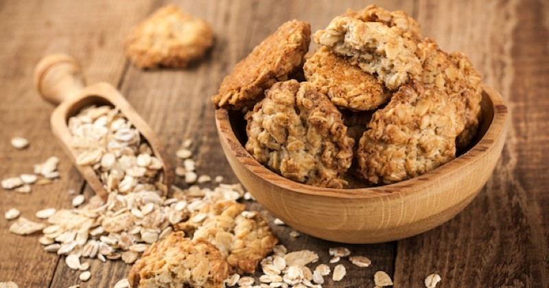 Innovez vos goûters avec cette cookies aux flocons d'avoine et pépites de chocolat