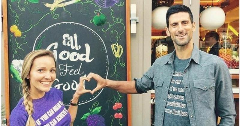 Novak Djokovic ouvre un restaurant proposant de la nourriture saine, gratuit pour ceux qui sont dans le besoin