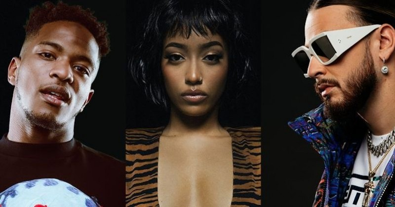 Niska, Shay et SCH, principaux jurés de l'émission française « Rhythm + Flow » signée Netflix