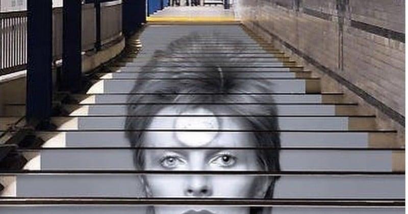 À New York, une installation consacrée à David Bowie dans le métro fait chauffer les distributeurs de tickets