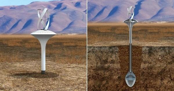 Découvrez la « Water Seer », cette éolienne révolutionnaire capable de créer de l'eau potable n'importe où dans le monde, même dans les zones les plus arides