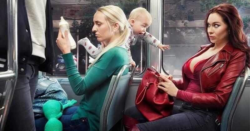 Ce photographe crée des situations loufoques qui vont probablement vous surprendre
