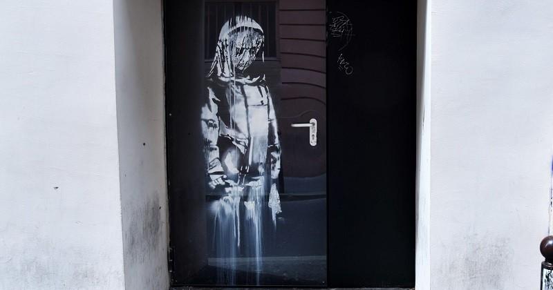 Banksy : son oeuvre volée au Bataclan a été retrouvée en Italie