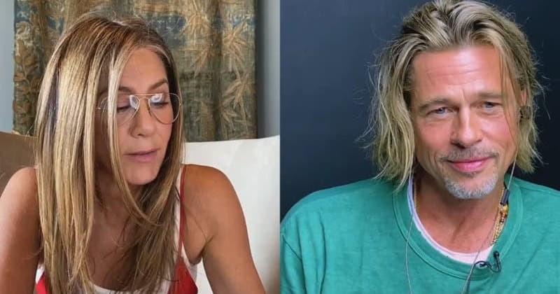 Jennifer Aniston et Brad Pitt réunis pour lire le scénario d'une scène torride