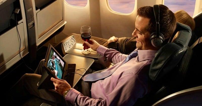 Chers voyageurs, vous pourrez bientôt regarder Netflix dans l'avion