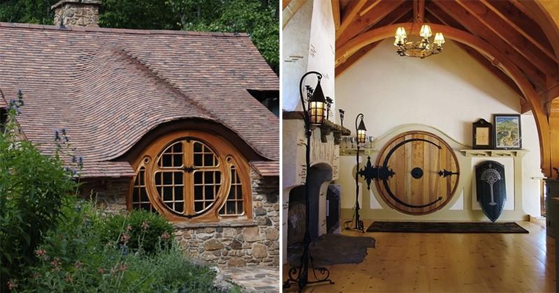 Fan de Tolkien, il s'est fait construire une véritable maison de Hobbit : et le résultat est dingue !