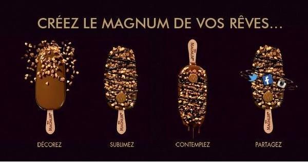 Alerte sur la planète food: Magnum ouvre son café éphémère à Paris. Amateurs de glaces, vous savez ce qu'il vous reste à faire!