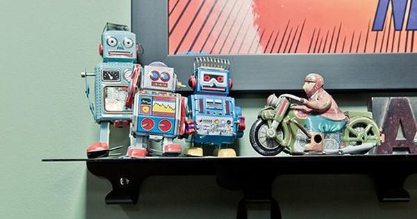 9 façons originales de décorer votre intérieur avec... des robots ! Assumez (enfin) le geek qui sommeille en vous
