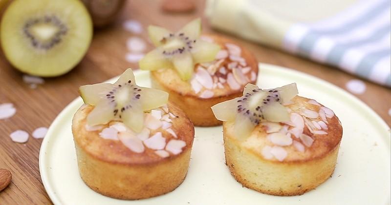 muffins au kiwi